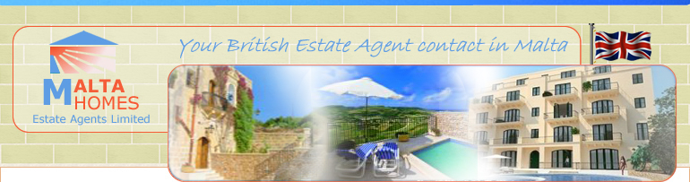 Malta Homes Estate Agent Homepage Banner
